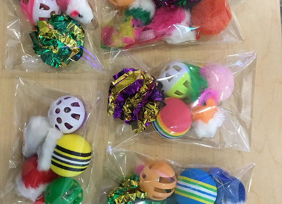 Cat toys - 6 pack