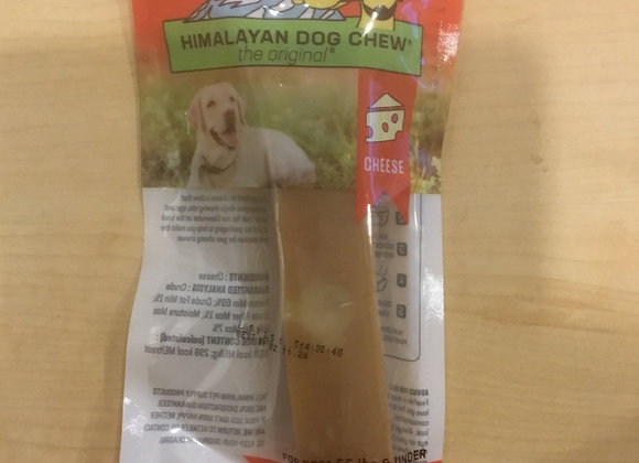 Himalayan Dog Chew - cheese, 3.3oz, hard density
