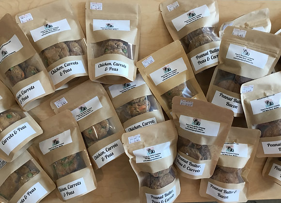 PAWS PURRFECT Homemade DogTreats - 4 pack