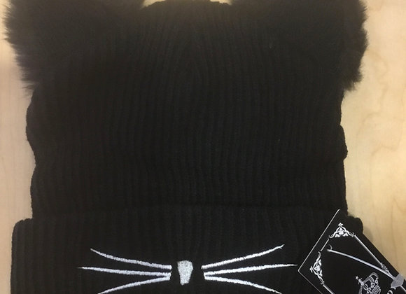 Bellamy Cat Ear Hat - Child/Adult (one size)