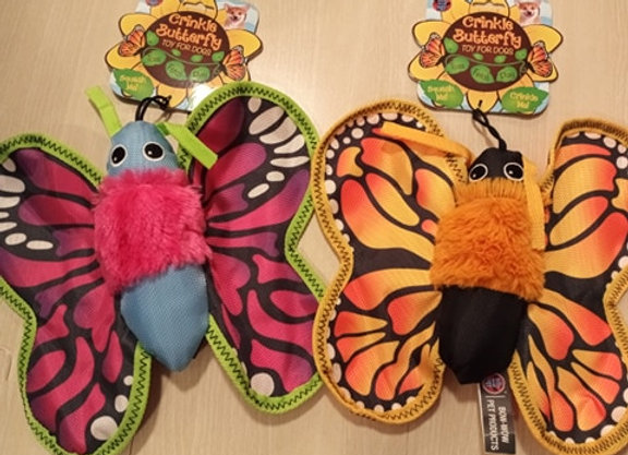 Butterfly Crinkle Toy