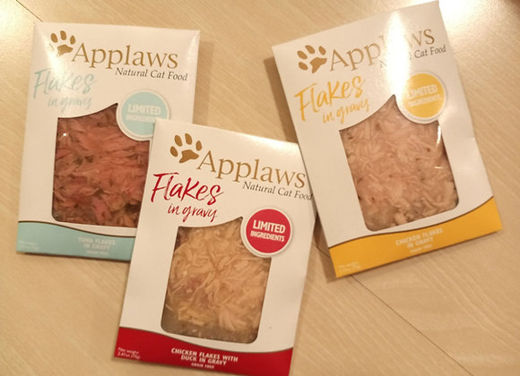 Applaws Flakes In Gravy - 2.47oz