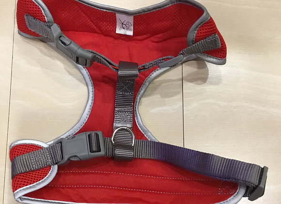 Pet shoppe harness - red, med/large
