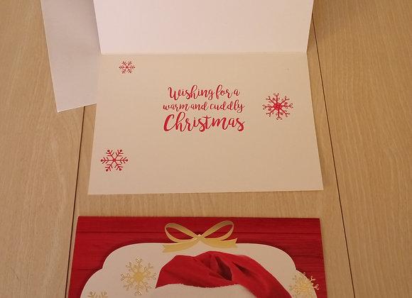 Holiday Pet Christmas Card