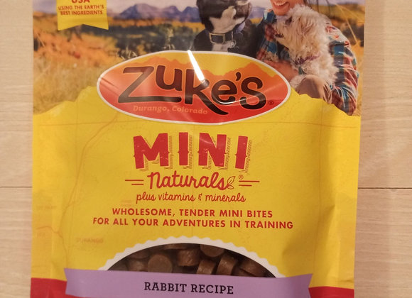 Zuke's Mini Naturals Training Treat - Rabbit, 6oz