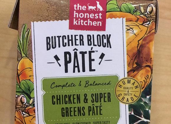 Honest Kitchen - chicken & greens pate