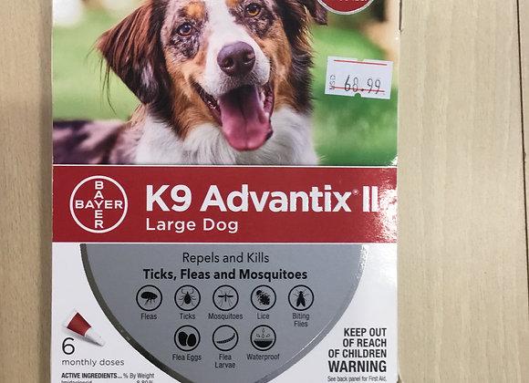 K9 Advantix II - large dog, 6 doses