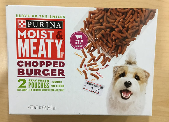 Purina moist & meaty - 2 pouches