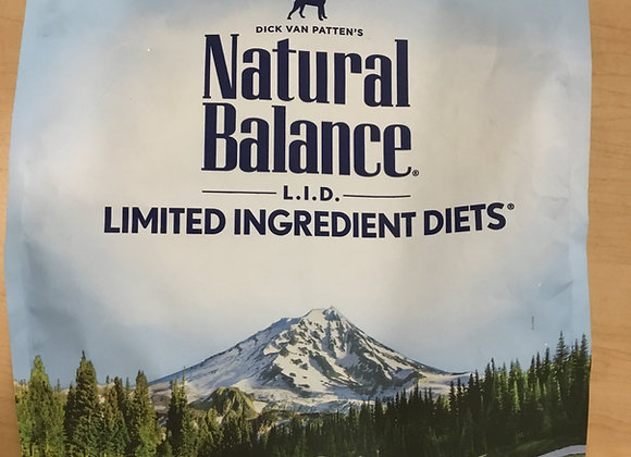 Natural Balance - potato & duck, 4.5lb