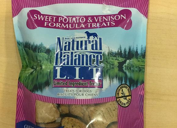 Natural Balance L.I.T. - sweet potato & venison, 14oz