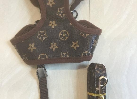 Louie Pawtton - collar & leash set