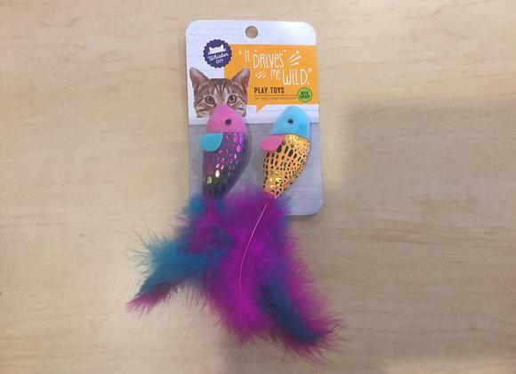 Whisker City cat toys - 2 pack