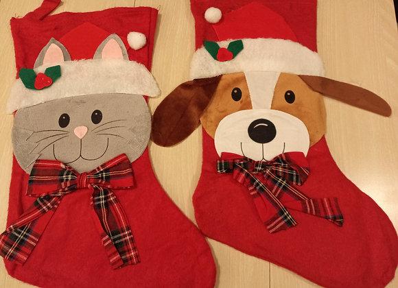 Cat/Dog Holiday Stocking