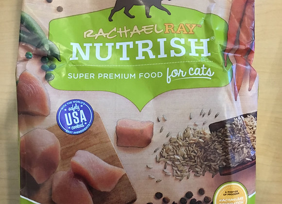 Rachel Ray Nutrish - cat, dry, chicken & brown rice, 3lb
