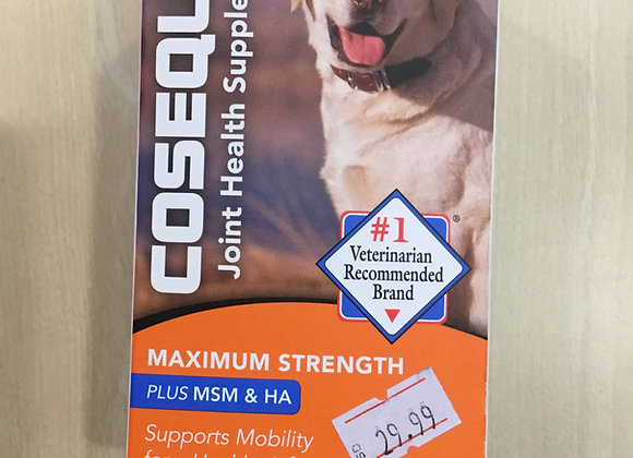 Cosequin - max strength, plus MSM & HA, 60 chewable tablets