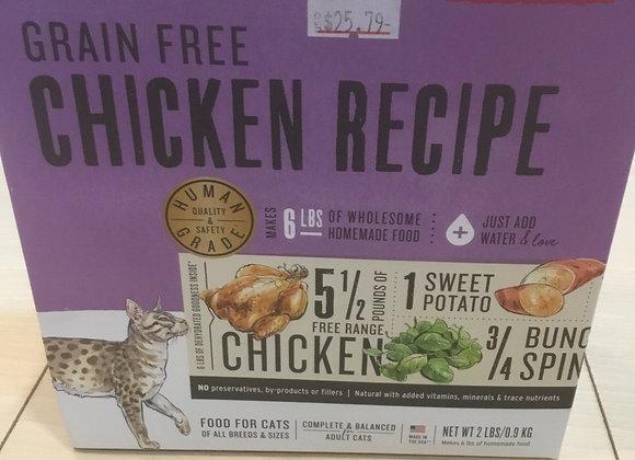 Honest Kitchen Cat - powdered, grain-free chicken, 2lbs