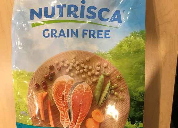 Nutrisca - Salmon & chickpea dog food, 4lb