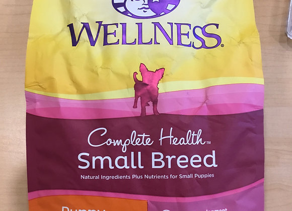 Wellness - puppy/small breed 4lbs