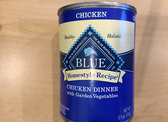 Blue buffalo - home style recipe can, Beef