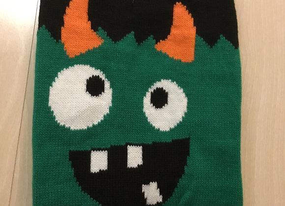 Halloween shirt - green monster