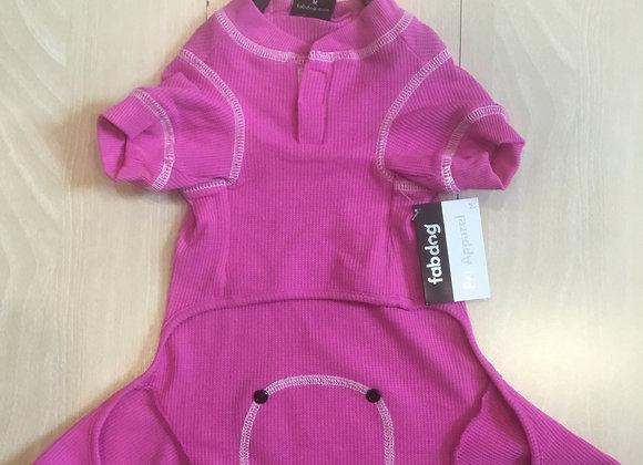 Pink Dog Pajamas - medium