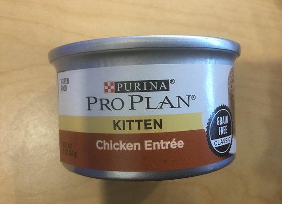 Purine Pro Plan - kitten, chicken, 3 oz