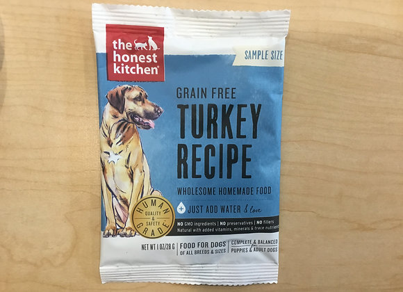 Honest Kitchen - grain free, sample size