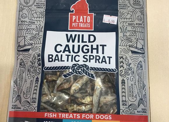PlatoTreats - Wild Caught Baltic Sprat, 3oz