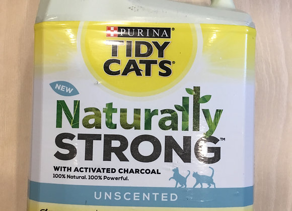Tidy Cats Naturally Strong - cat litter, unscented, 20lb