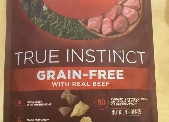 Purina One True Instinct - Beef, 6lbs