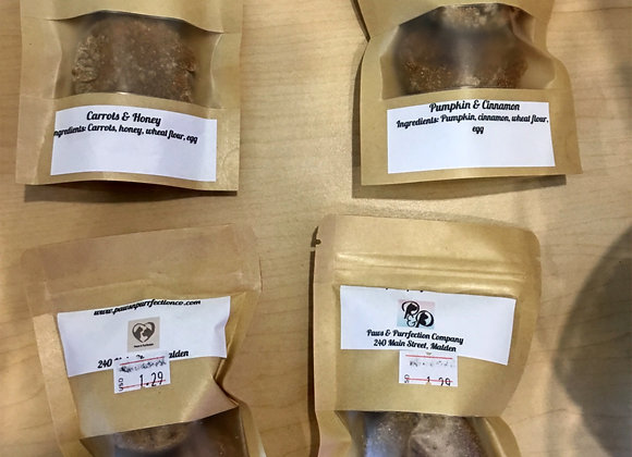 PAWS PURRFECT Homemade DogTreats - 2 pack