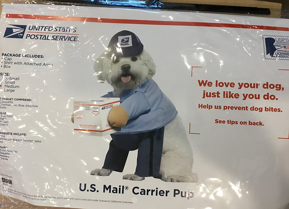 Halloween - USPS costume, med/large