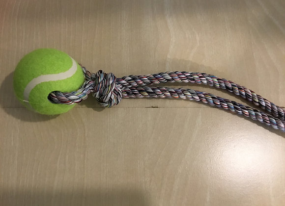 Rope & ball toy