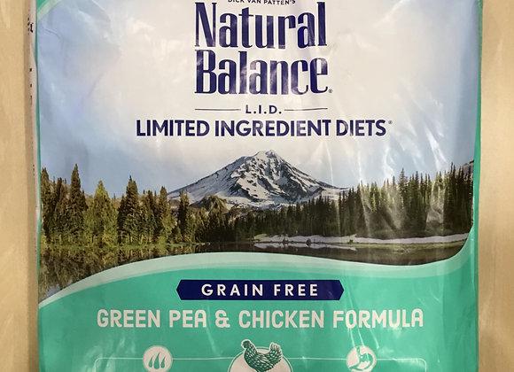 Natural Balance - cat, peas & chicken, 10lbs