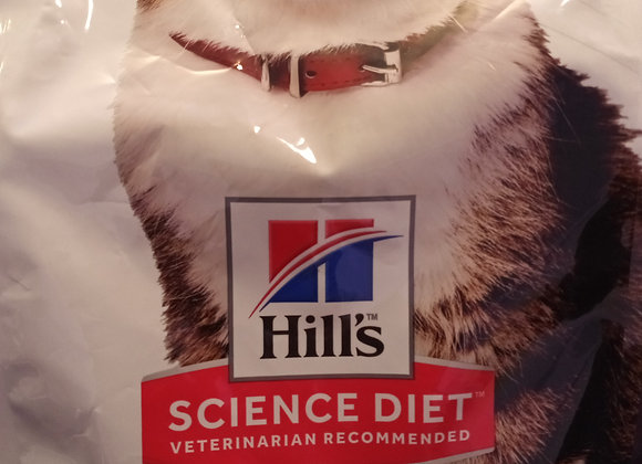 Hills Science Diet - Cat Hairball Control Adult, Chicken, 3.5 lbs