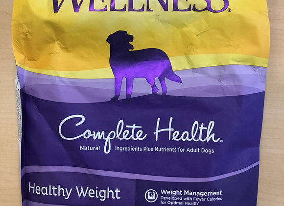 Wellness - 5lb Grain free, healthy weight, chicken with chick peas