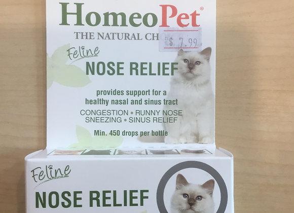 Homeopet Feline Nose Relief - cold medicine, 15ml