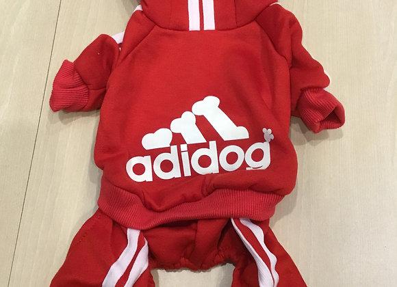 Adidog sweatsuit -small/med