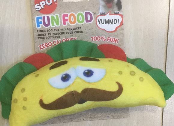 Spot Fun Food - taco with squeak
