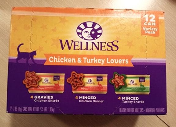 Wellness - Chicken & Turkey Lovers Variety Packs