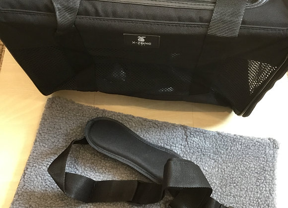 Carrier - black, X-zone with cushioned mat