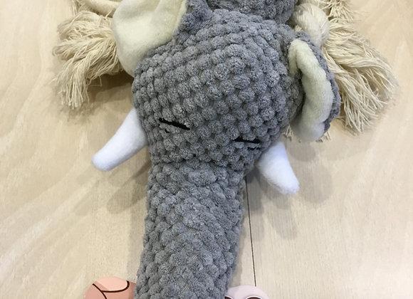 Elephant rope chew toy