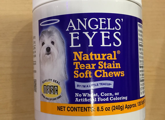 Angel Eyes Natural Tear Stain Soft Chews, 8.5oz, 120ct