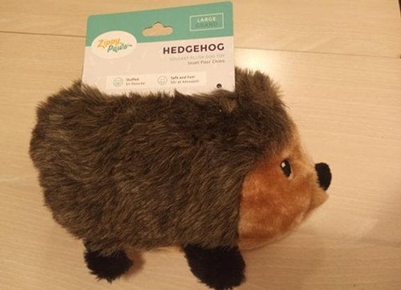 Zippy Paws - Hedgehog, squeak plush toy