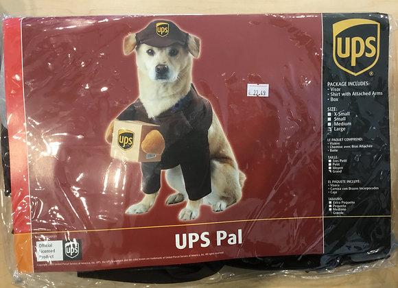 Halloween - UPS costume, med
