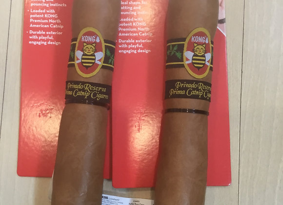 Kong cigar catnip toy