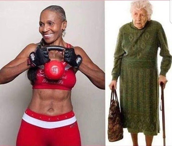 Both women are 80 which one would you choose to look like when you are in your 80ies?