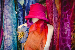 Kate Ramsey Felt & Silk Scarves