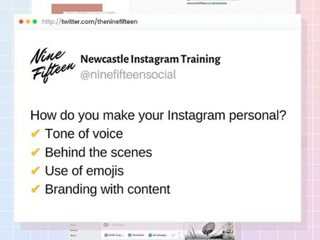 How Do You Make Your Instagram Personal?