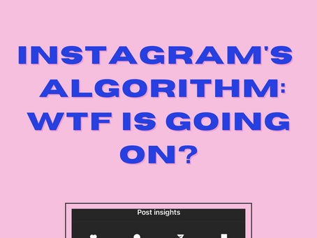 Instagram Algorithm 2020 September Update - What's Going On?